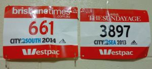 In the words of Split Enz, I SEE RED I SEE RED (one day at the City2Surf) I SEE RED