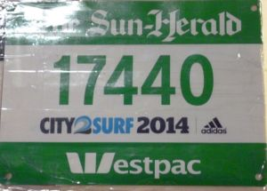 The Green bib now takes pride of place on the Bib Wall at home.